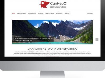 Screenshot CanHepC Website